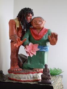 Angulimala and the Buddha.