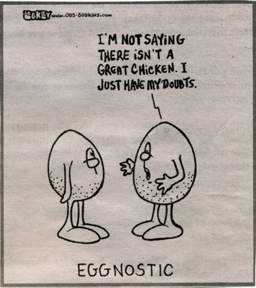 EGGNOSTIC CARTOON